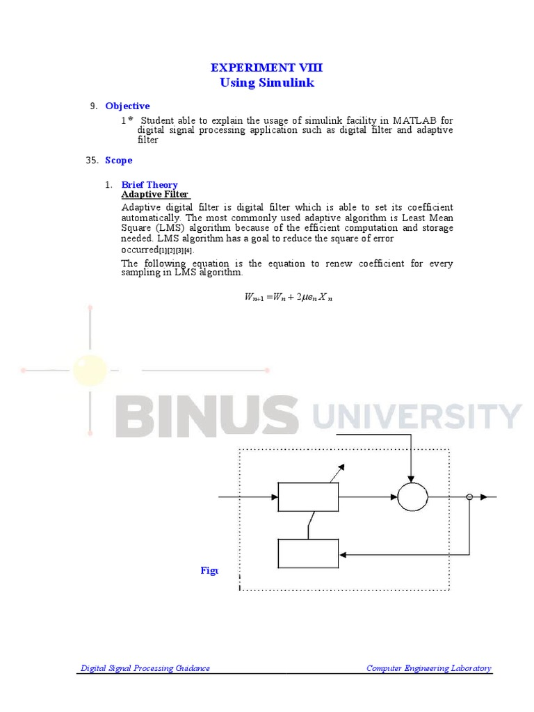 Digital signal processing | Digital Signal Processing