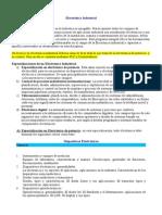 Detalle de Electrodetallenica Industrial y Especializaciones