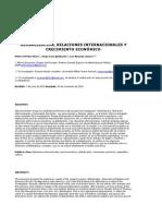 Páez Pérez, P. Et Al (2010) - Globalización, Relaciones Internacionales y Crecimiento Económico