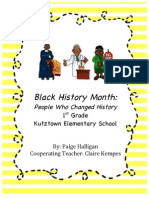 cover page to unit