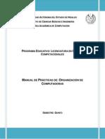 Manual de Prácticas Organizacion de Computadoras 2015 Final