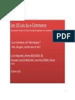 KPI E-commerce 2015 CIRVAD
