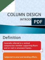 Design of Column