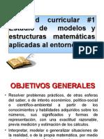 Tema 1. La Estructura de Los Dominios Numéricos y Sus Aplica