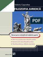 Valeriu Capcelea Filozofia Juridica