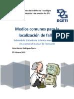Localización de fallas (medios)