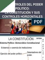 Controles  del Poder Politico