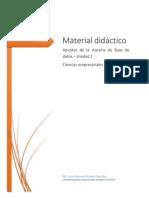U1-Material Didactico-Introduccion a La Administración de BD