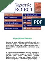 Aula 23 e 24- Apresentação Do Perseus Digital Library GREGO ANTIGO