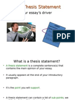 thesis and intro