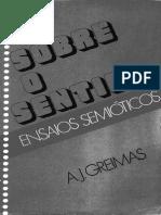 Greimas (1975) Sobre o Sentido- Ensaios Semióticos2 (1)