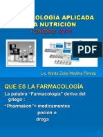 Farmacología VI Semestre