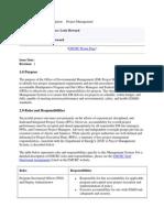 Pmo Management System Description Final