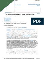 Triclosan Resistencia Antibioticos