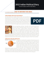 A Balanced Road to Reform for India -- APCO Analysis of India's 2015 Budget