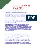 Hoy Cristo te da el Poder de CURAR EL CANCER!!! ^_^ 14