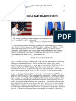 cold war entry event and rubrics 2015