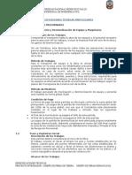 ESPECIFICACIONES TECNICAS de obras hidraulicas