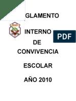 Reglamentointernodeconvivenciaescolar2011ESC RURAL LOS GUINDOS
