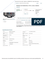 MEGGER Medidor de Aislamiento,15 KV,Línea o Batería - Megómetros - 30KA05_MIT1525 - Grainger Industrial Supply