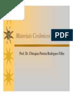 Introdução Materiais Cerâmicos 2010