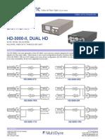 Fiber Optic Transmission | Audio Over Fiber | Multidyne