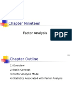 BRM - Factor Analysis