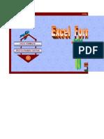 EXCEL Formulae Sheet