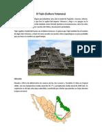 El Tajín Cultura Totonaca