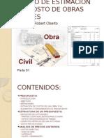 Curso de Costo de Obras Civiles Parte 01