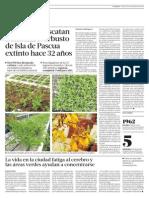 Científicos Rescatan a Toromiro Arbusto de Isla de Pascua Extinto Hace 32 Años