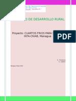 Perfil de Proyectos de Cuartos Fríos Semilla INTA-CNIAB