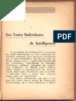 Teste individual de inteligência
