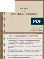 CH08 Finite Element Programming