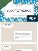 HEMATOTHORAX