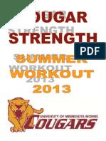 UMM Summer 2013 Workout