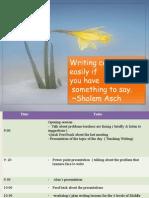 training & workshop  feb 18th 2014 berouaghia teaching writing.ppt