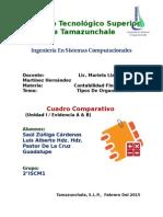 Cuadro Comparativo_Tipos de Organizaciones