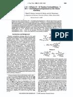 nitroalkane inter 4 + 2 / intra 3 +2 tandem cycloaddition