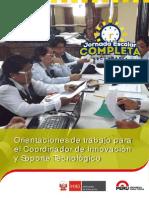 Orientaciones Para Coordinador de Innovacion y Soporte Tecnologico
