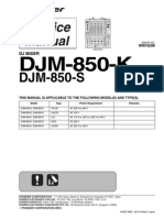 Pioneer Dj 850 Serv Manual