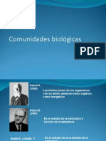 Comunidades Biologias