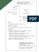 Hon. Judge Patrick J. Arre - Bajardi v. Pincus