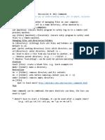 Discussion 0 Extra Unix