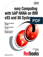 In-Memory Computing With SAP HANA on IBM EX5 and X6 Systems