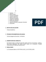 Modelo de Informe de Resultados WAIS IV