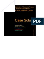 Excel Solutions to Cases