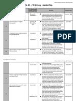 final field-based internship plan