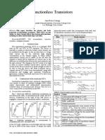 Junctionless Transistors