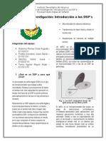 Reporte de Investigación - Introducción a Los DSP's